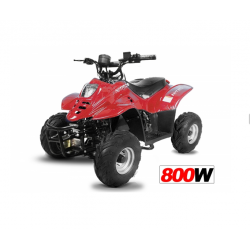 "Quad Big Foot Eco 6"" 800W - FULL - Rouge"