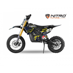 Mini Moto électrique RX 1000W - Bleu
