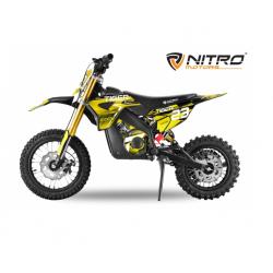 Mini Moto électrique RX 1000W - Jaune
