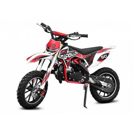 Pocket cross Gazelle Sport 49cc - Rouge