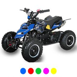 "Pocket quad Raptor 6"" Noir"