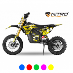 Mini Moto électrique RX 1000W - Verte