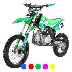 "Minicross Apollo RFZ Open Enduro 150cc 14""/17"" 2020 - Vert"