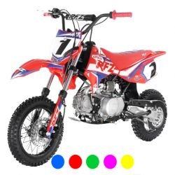 "Pit bike Apollo RFZ Rookie 110cc semi-auto 10""/12"" 2020 - Orange"