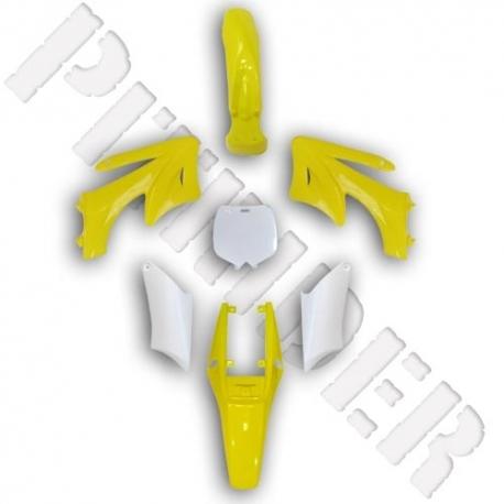 Carénage Pocket Cross AGB - Jaune