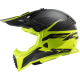 CASQUE LS2 FAST EVO ROAR MATT BLACK H-V YELLOW MX437