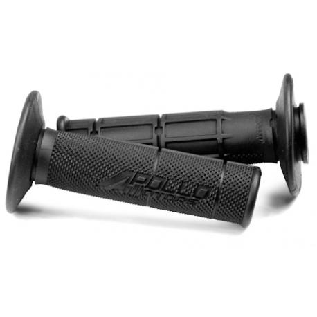 Poignée Apollo Motors - Noir - Dirt bike / Pit Bike / Mini Moto