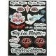 Planche autocolant - Troy Lee Designs
