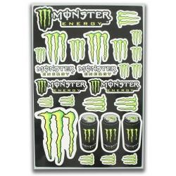 Planche autocolant - Monster