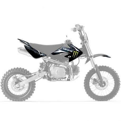 Kit deco CRF50 ONE Industrie - Monster