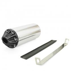 Cartouche CNC Silver / Noir ø32mm Dirt bike / Pit Bike / Mini Moto