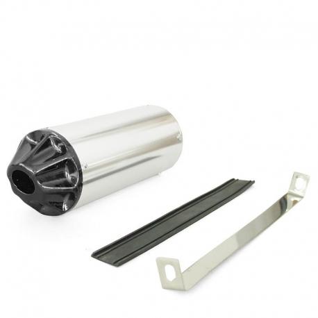 Cartouche CNC Silver / Noir ø28mm