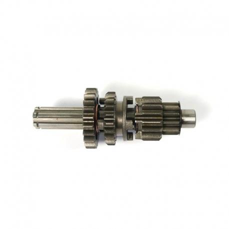Arbre primaire démarrage point mort 14/17mm L.119mm