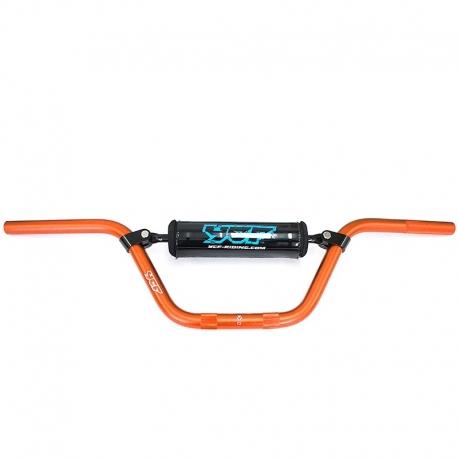 Guidon aluminium YCF - Orange
