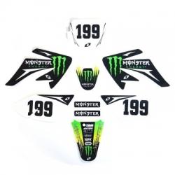 Kit deco CRF70 - Monster Energy