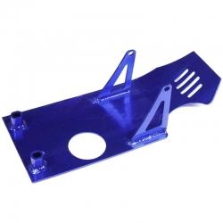 Sabot moteur aluminium - Bleu