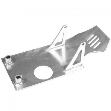 Sabot moteur aluminium - Chrome