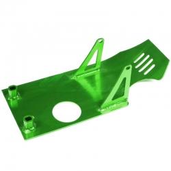 Sabot moteur aluminium - Vert