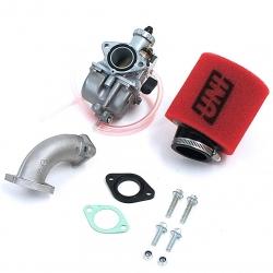 Pack carburateur Mikuni 26 - Filtre UNI Rouge