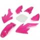 Kit plastique CRF50 - Rose