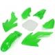 Kit plastique CRF50 - Vert
