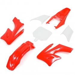 Kit plastique AGB - Rouge