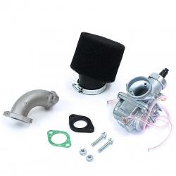 Pack carburateur MOLK 26 - filtre à air Mousse noir