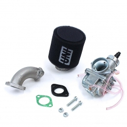 Pack carburateur MOLK 26 - filtre à air UNI noir