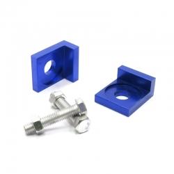 Tendeur de chaine carré Bleu