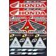 Planche autocolant - One Indutries Honda
