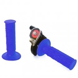 Poignée tirage rapide + poignée Bleu