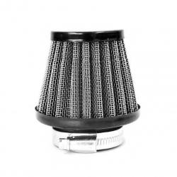 Filtre à air acier ø38mm - Noir