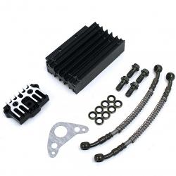 Kit Radiateur CNC Complet Noir