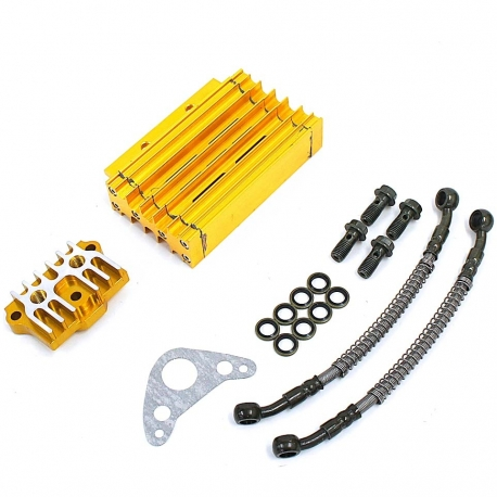Kit Radiateur CNC Complet Or