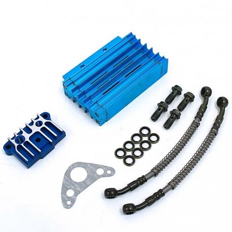 Kit Radiateur CNC Complet Bleu