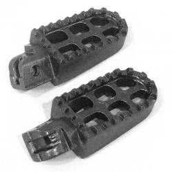 Cale pieds aluminium - Noir
