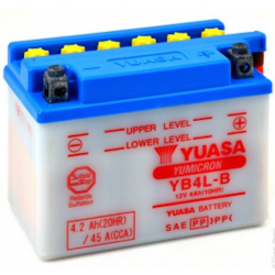 Batterie YUASA YB4L-B 12V - 4Ah