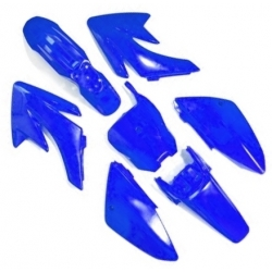Kit plastique CRF70 - Bleu