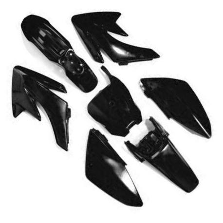 Kit plastique CRF70 - Noir