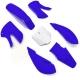 Kit plastique KLX - Bleu