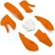 Kit plastique KLX - Orange