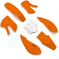 Kit plastique KLX - Orange
