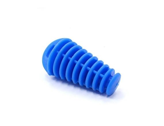 Bouchon d'échappement - Bleu