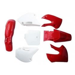 Kit plastique BBR - Rouge