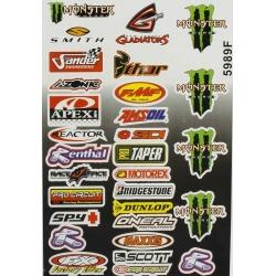 Planche autocollant - Logo