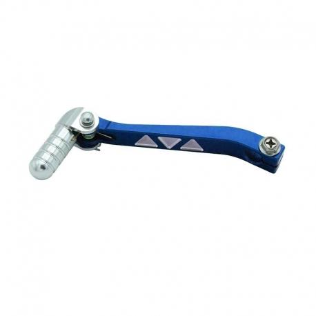 Sélecteur de vitesse aluminium - Bleu