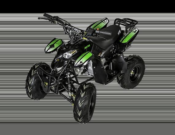 Quad Razer 125cc - Vert (Marche arrière)