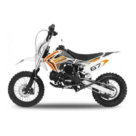 Dirt bike STORM 110cc -  Semi-Automatique Orange