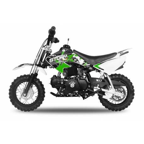 Dirt bike STORM 70cc -  Automatique Vert