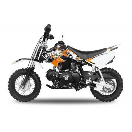 Dirt bike STORM 70cc -  Automatique Orange